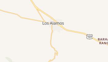 Los Alamos, California map