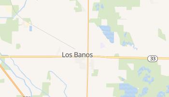 Los Banos, California map