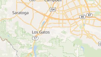 Los Gatos, California map