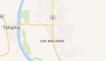 Los Molinos, California map