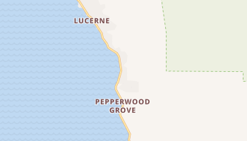 Lucerne, California map