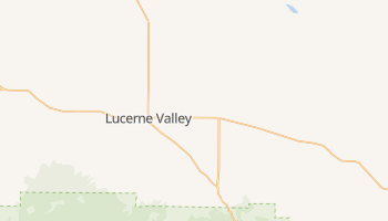 Lucerne Valley, California map