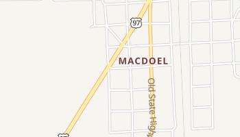 Macdoel, California map