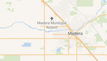 Madera, California map
