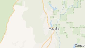 Magalia, California map