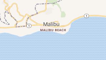 Malibu Beach, California map