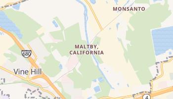 Maltby, California map