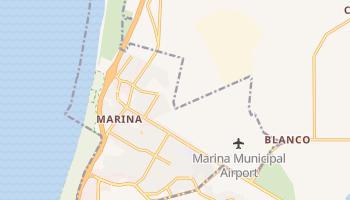 Marina, California map
