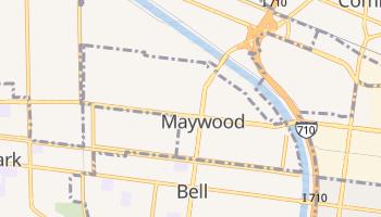 Maywood, California map