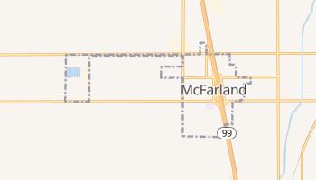 McFarland, California map