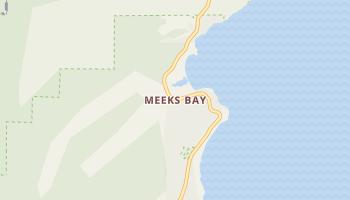 Meeks Bay, California map