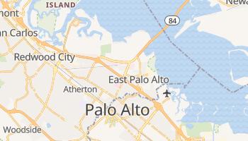 Menlo Park, California map