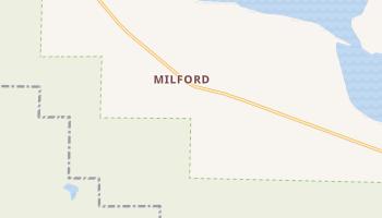 Milford, California map