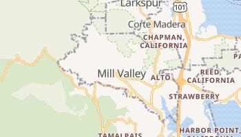 Mill Valley, California map