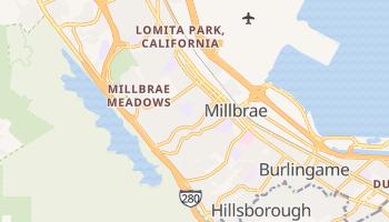 Millbrae, California map