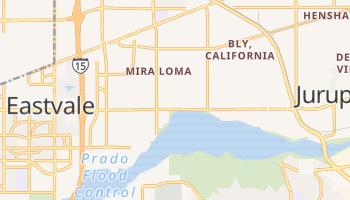 Mira Loma, California map