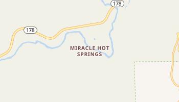 Miracle Hot Springs, California map