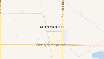 Monmouth, California map