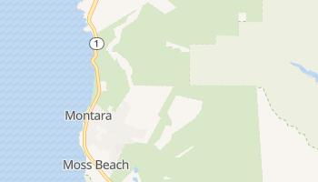 Montara, California map