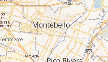 Montebello, California map