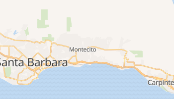 Montecito, California map