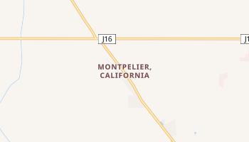 Montpelier, California map
