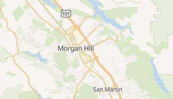 Morgan Hill, California map