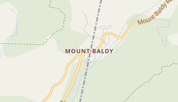 Mount Baldy, California map