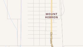 Mount Hebron, California map