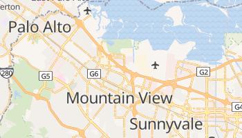Mountain View, California map