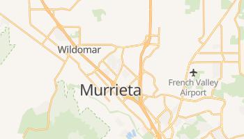 Murrieta, California map