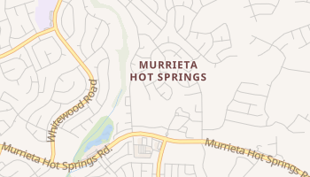 Murrieta Hot Springs, California map