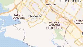 Newark, California map