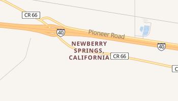 Newberry Springs, California map