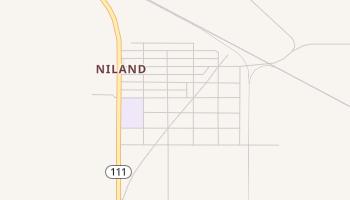 Niland, California map