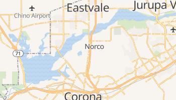 Norco, California map