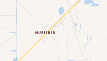 Nubieber, California map