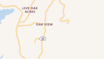 Oak View, California map