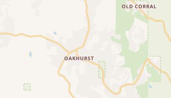 Oakhurst, California map