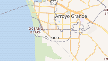 Oceano, California map