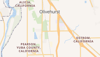 Olivehurst, California map