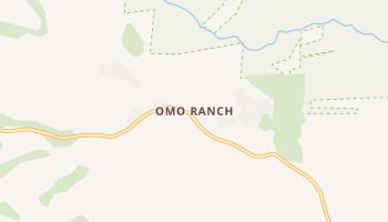 Omo Ranch, California map