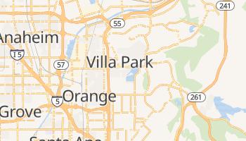 Orange, California map
