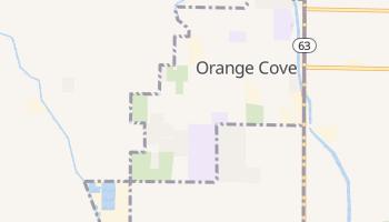 Orange Cove, California map