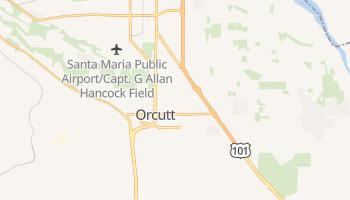 Orcutt, California map
