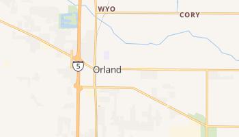 Orland, California map