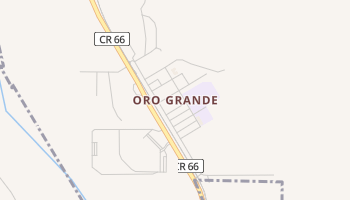 Oro Grande, California map