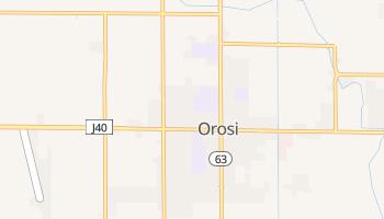 Orosi, California map