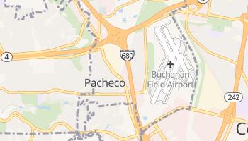 Pacheco, California map