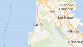 Pacifica, California map
